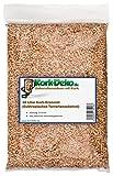 10 Liter Korkgranulat / Terrariensubstrat, subtropisch (3-8 mm) Korkschrot aus geschroteter Naturkorkrinde gewonnen. Als subtropisches Terrarien-Einstreu (Bodengrund, Substrat) von Kork-Deko