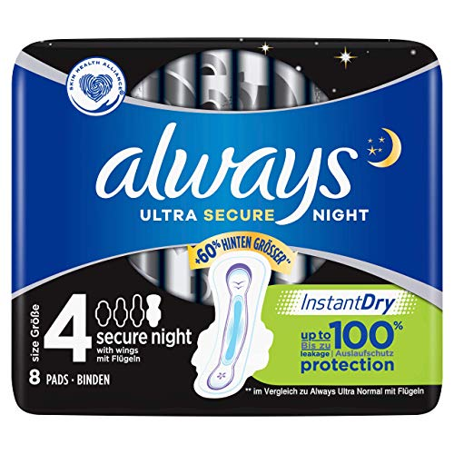 Always Ultra Secure Night - Compresa tamaño 4