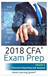 CFA Level 1 Exam Prep - Volume 3 - Financial Reporting And Analysis