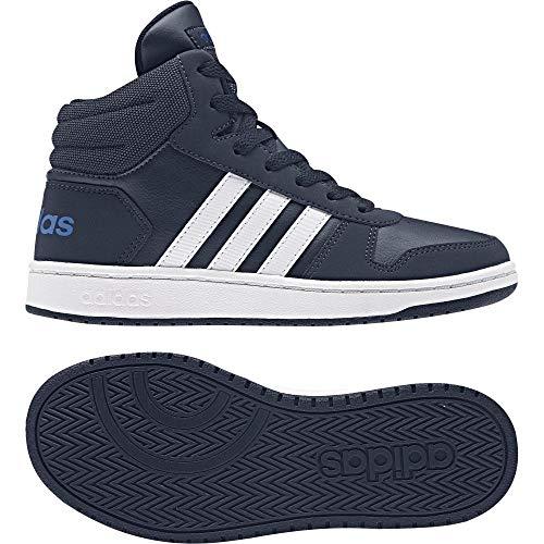 purchase cheap 0009c 636de Adidas Vs Hoops Mid 2.0 K, Scarpe da Basket Unisex-Bambini, Blu (