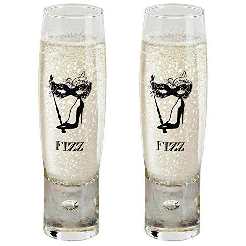 Durobor Ladies' Fizz Coupe de Champagne 150ml - Lot de 2