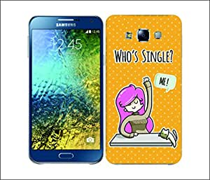Galaxy Printed 2993 Whos Single Rain Hard Cover for Samsung CORE PLUS