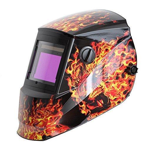 Antra Ah 6-660-6104 solaire Masque de soudeur Auto-obscurcissant AntFi 60-6 x large gamme de teintes 4/5 à 9/9-13 avec couvre objectif automatique de mouture très bon pour Arc Tig/Mig Plasma CSA ANSI certifiés Par Colts Lab
