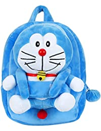 WonderKart® Super Cute & Plush Cartoon Character Bag With Detachable Soft Toy