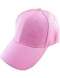 BEETEST Béisbol al aire libre unisex gorras sombrero visera ajustable sólido