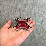 Ycco Le mini-drone de poche le plus récent mode sans tête X20, nano-diode électroluminescente de 2,4 GHz, RC, altération de maintien 500w pixel, drone multi-protection pour enfants et débutants, intér