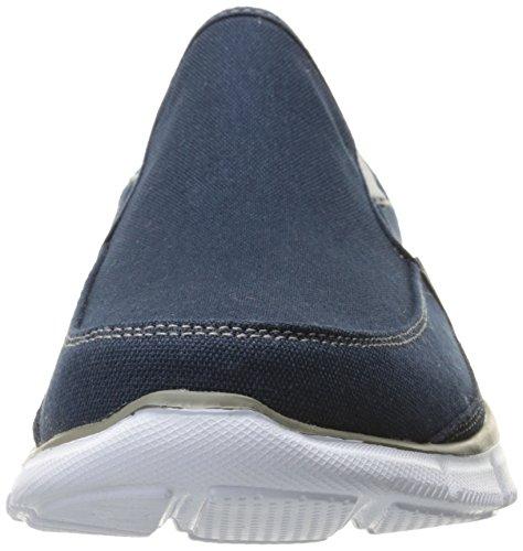 Skechers - Equalizer - Jeu De Réflexion, Scarpe Sportive Uomo Navy / Grey