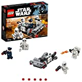 LEGO Star Wars - Pack de combat le Speeder de transport du Premier Ordre - 75166 - Jeu de Construction