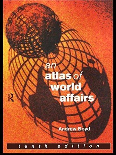 Portada del libro An Atlas of World Affairs by Andrew Boyd (1998-03-27)