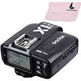 Godox X1N TTL HSS 1/8000S 2.4G Inalámbrico Flash Disparador Transmisor para Nikon D300, D200,D100, D5200, D3200, D7000, D5100, D5000, D3100, D3000, D7100 Cámara i-TTL II Flash (X1N-T)
