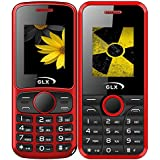 GLX W5 & W8, Basic Feature Mobile Phone, Combo Of 2 (Red)