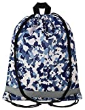 Aminata Kids Turnbeutel Camouflage Tarn-Farben Jungen weiß blau grau Sport-Beutel Fitness Festival Armee Army Hipster Jugend-lich-e cool-e Armee Army Militär Mehr-Farbig BW Marine US Navy