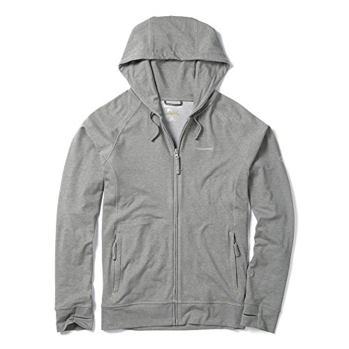 Craghoppers NosiLife Avila II Jacket Men - Kapuzenjacke Quarry Grey Marl