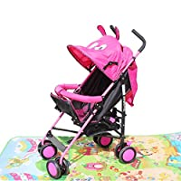 Vepson Cartoon Design Foldable Lightweight Travel Baby Carrier Stroller Pram Buggy(Model-668)