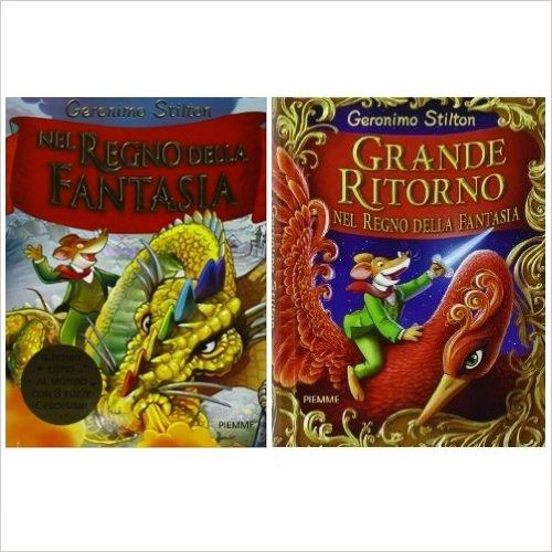 Selezione Geronimo Stilton - Nel Regno della Fantasia + Grande ritorno nel Regno della Fantasia