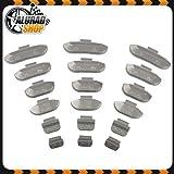 5-30g Pesi di ictus Pesi equilibratura Pesi di equilibrio Assortimento per Cerchi in acciaio 600 Pezzi (ogni 100 di 5g, 10g, 15g, 20g, 25g e 30g)