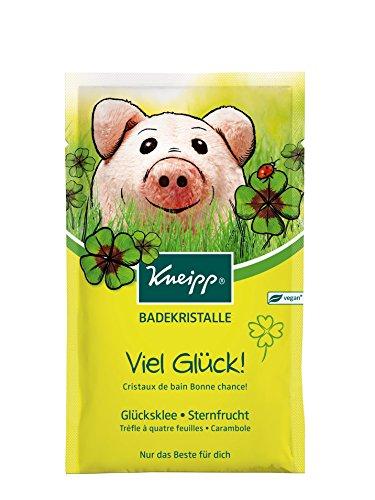 Kneipp Badekristalle Viel Glück, 4er Pack (4 x 60 g)