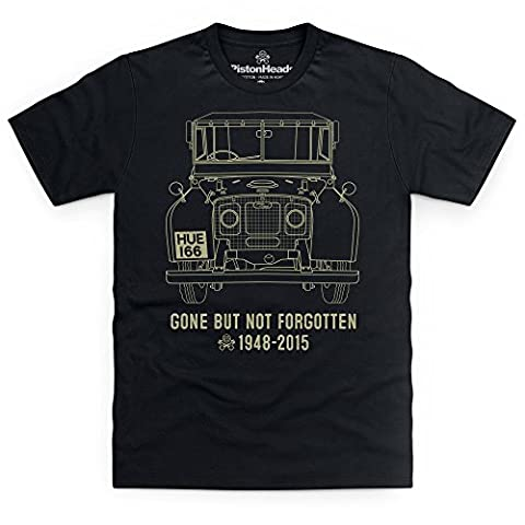 PistonHeads Gone But Not Forgotten T-shirt, Pour homme, Noir, 5XL