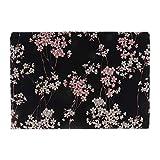 Sitrda 1 pièce de Tissu Vintage en Coton imprimé Fleurs de Prune, Kimono Japonais...