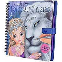 CREA Tu Fantasy Model and Friends para Colorear Libro con Scratch Pegatinas