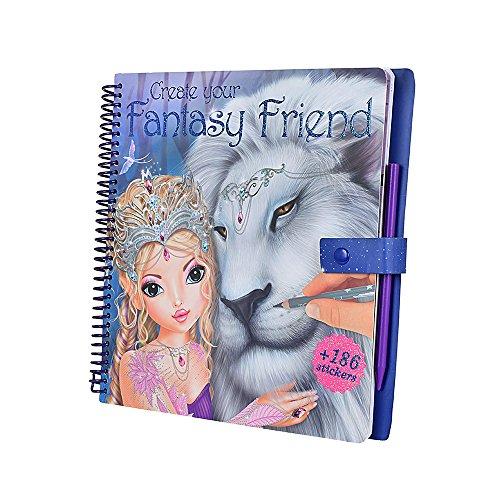 TOPModel 8061 - Create your Fantasy Friend Malbuch mit Rubbelbildern