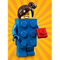 LEGO Series 18 BRICK SUIT GIRL Minifigure (#03/17) - Bagged 71021