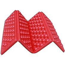 BEAUTPINE Almohadillas de colchón para Acampar al Aire Libre Plegables a Prueba de Humedad Plegables Asiento