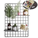Raster-Foto-Wand-Satz von 2, Oucles Rasterfeld-Wand-Ineinander greifen-Anzeigen-Verkleidungs-dekorativer