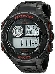 Timex Shock Digital Grey Dial Mens Watch - T49980