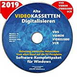 Easy VHS to DVD Video-Kassetten selber digitalisieren Software Komplettpaket PREMIUM NEU