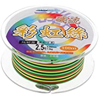perfk Línea de Trenza Elástica Lanzamiento de Señuelos Suave Sedal Pesca Alambre - 2.5#