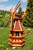 Deko-Shop-Hannusch Windmühle 2 stöckig kugelgelagert 1