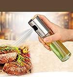 WYQY BBQ Öl Sprühflasche, Küche Versorgung Lebensmittel Öl Spray Bootle 304 Edelstahl Öl Spray Essig Sauce Spray Küchenzubehör