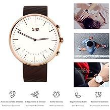 Reloj Smartwatch Analogico Elephone W2 Dorado
