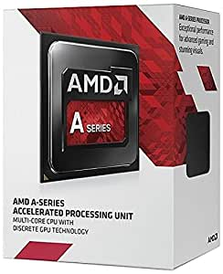 AMD FM2 A8-7600 3,1GHz Box Processore, Nero