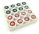 Woljay Board Chinesisch Schach XiangQi Set mit Kunststoff Stauraum
