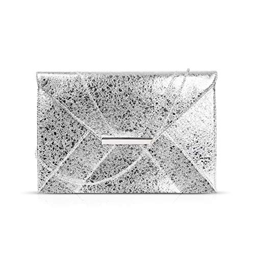Anna Smith Clutch monederos mujer Boda Envenlope Embragues