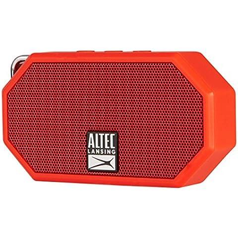 Altec Lansing Mini H2O - Altavoces portátiles (Inalámbrico y alámbrico, Batería, Bluetooth/3.5 mm, Universal, Rectángulo,