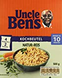 Uncle Ben's® Natur-Reis 10-Minuten Kochbeutel, 12er Pack (12 x 500 g)