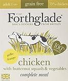 Forthglade Grain Free Comida Húmeda Pollo, para Adultos - Paquete de 7 x 395 gr - Total: 2765 gr
