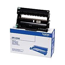 Brother DR2200 Tamburo Originale per Stampanti Serie 2200, Serie 7000, FAX2840, FAX2845, FAX2940, Capacità fino a 12.000 Pagine