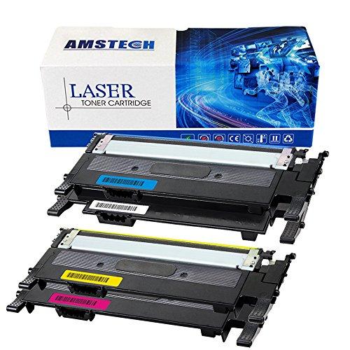 Preisvergleich Produktbild 4 Pack Amstech kompatibel Toner CLT-K404S CLT-404S CLT-P404C Tonerkartusche fuer Samsung Xpress C430 C430W C480 C480W C480FW C480FN SL-C480/TEG SL-C430/TEG Farblaser-Drucker;