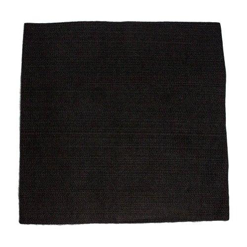 Tapis de protection pour soudage, inflammable, noir : 30,4 x 30,4 cm