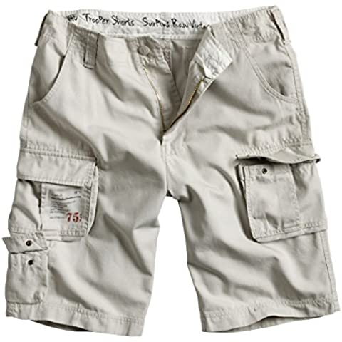 Surplus - Surplus Trooper Shorts, Shorts da uomo - Army Surplus Camouflage