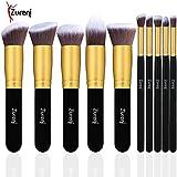 #9: Zureni Professional Makeup Brushes Kit Set of 10Pcs