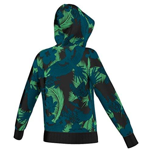 Adidas pull à capuche avec trèfle adidas pull à capuche avec logo Multicolore - Multicolore