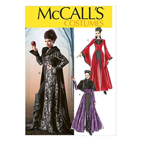 Lot Patron Couture - McCall's Patterns M6818 Patrons de costumes Blanc