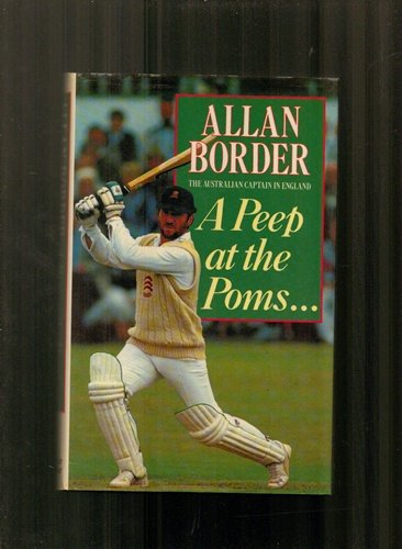 Peep at the Poms por Allan Border