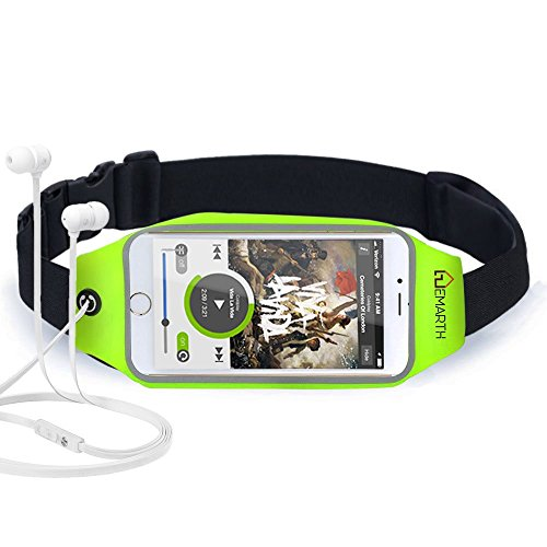 EMARTH Running Waist Packs Running Belt Waistpacks for Outdoor Activities Like Running, Hiking, Jogging, Running Pouch for Smartphones up to a 5.5