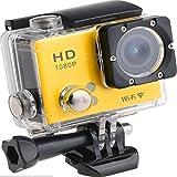 HaoYiShang Sports Waterproof Camera 1080P 12M HD Helmet Caméra sous-Marine pour...